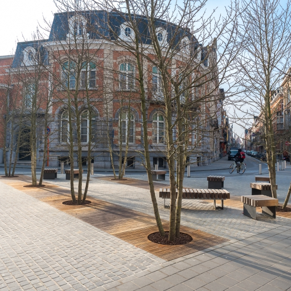 Streetfurniture - Tree Grille CorTen, Leuven (BE)