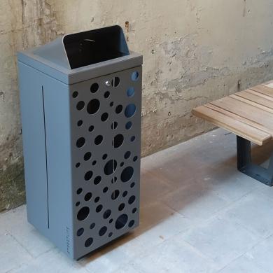 Mobilier urbain- Box Bin Extra Slim, Leiden (NL)